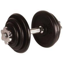 Avento Dumbbell 10 kg Black 41HL