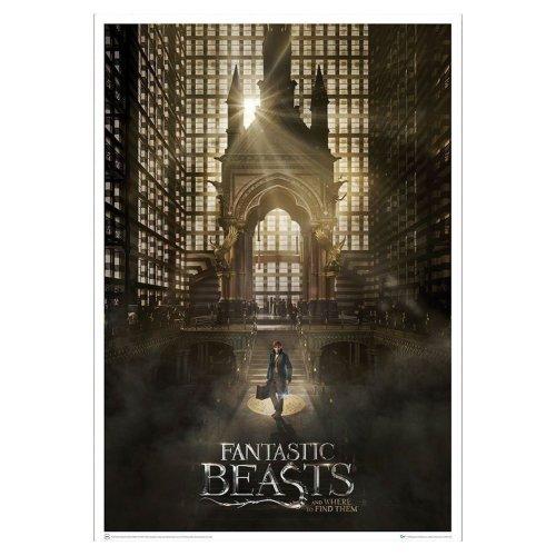 """Poster - Fantastic Beasts - Art Print Magical Congress 27x40"""" fb-0202"""