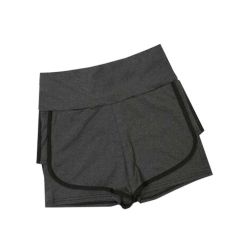 Women's Hot Elastic Waist Gym Pants Active Wear Lounge Shorts,#A 7