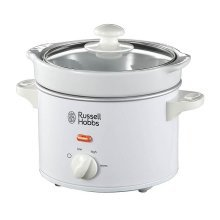 Russell Hobbs Compact Slow Cooker 2 L Capacity  - White (Model No. 22730)