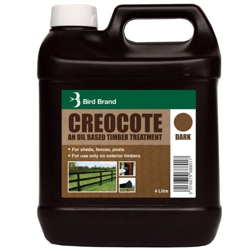 Bird Brand  4 Litre Creocote Timber Treatment