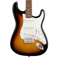 Fender Standard Stratocaster Electric Guitar, Brown Sunburst, Pau Ferro