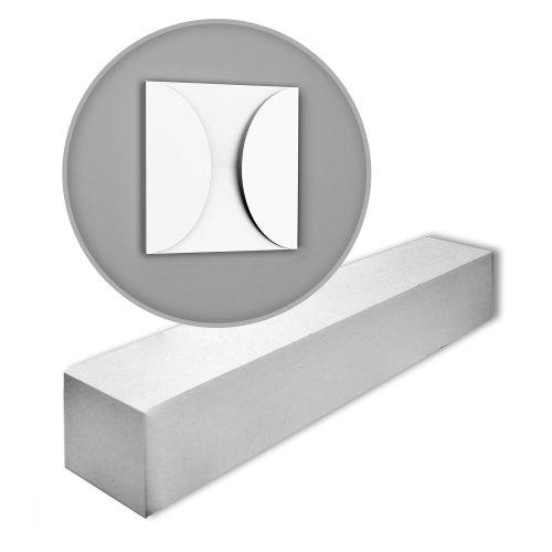 Orac Decor W107-box MODERN CIRCLE 3d wall panels 1 Box 5 pieces | m