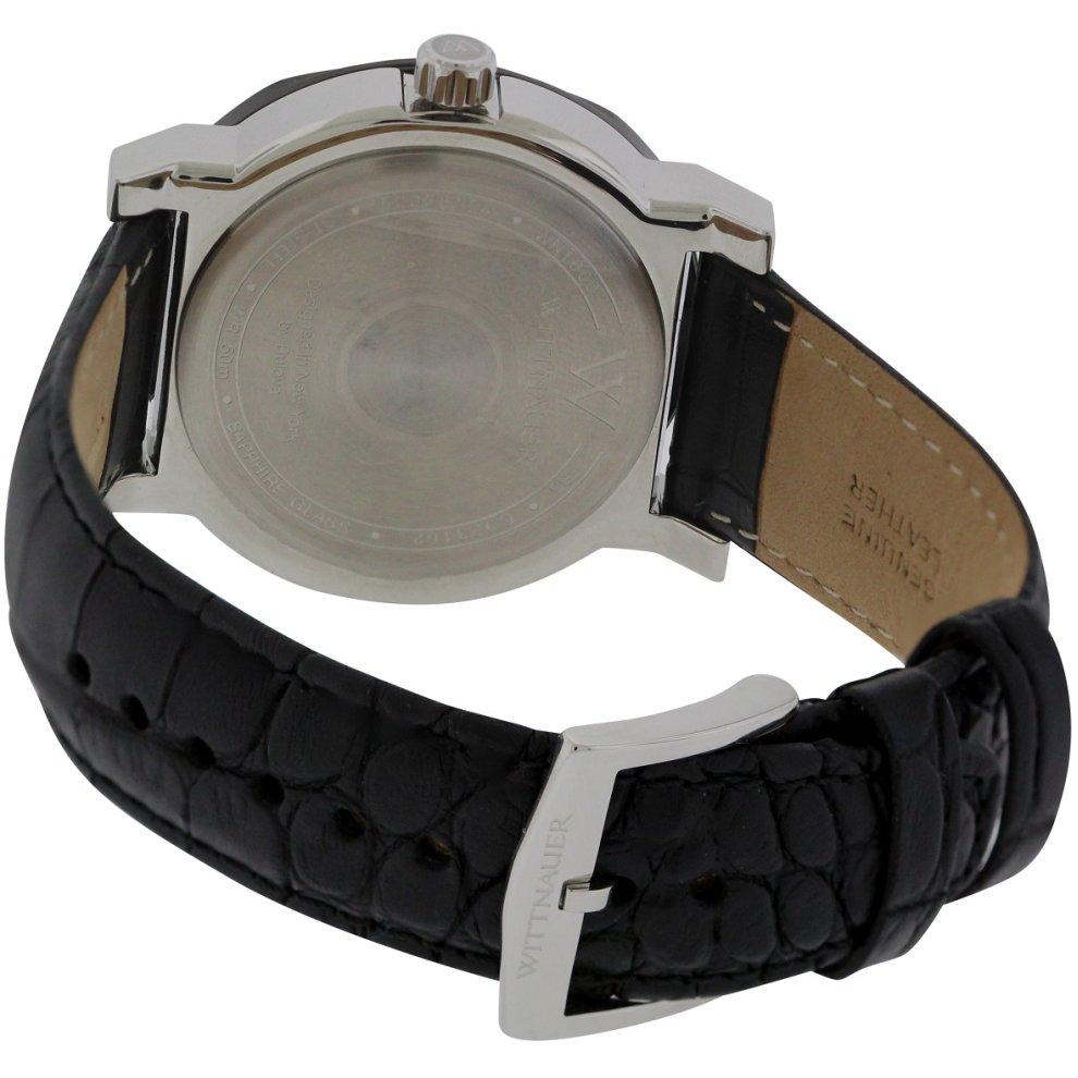 1621badefddd Wittnauer Aiden Leather Mens Watch WN1000 Wittnauer Aiden Leather Mens Watch  WN1000 - 1 ...