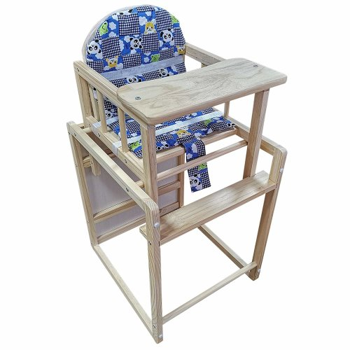 Homcom Baby Feeding Highchair Multi-function Nursery W/ Cushion