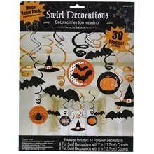 Halloween Swirls Decorations