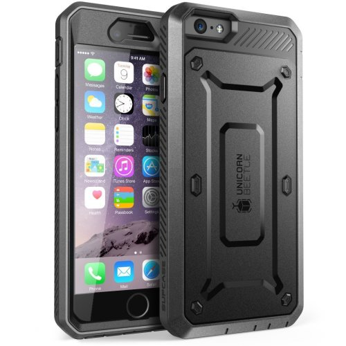 newest 623b7 3aaef SUPCASE iPhone 6 Plus Case, Belt Clip Holster Apple iPhone 6 Plus Case 5.5  inch display [Unicorn Beetle PRO] Cover w/Screen Protector...