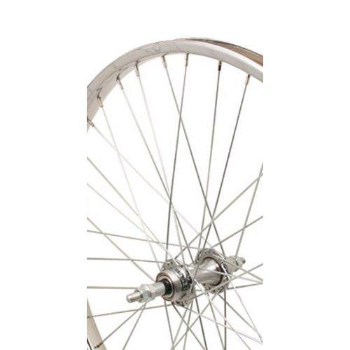 Sta-Tru Steel 6-7 Speed Freewheel Hub Rear Wheel (24X1.75-Inch)