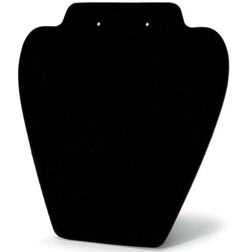 """Folding Jewelry Stand 7.25"""" 6/Pkg-Black Velvet"""