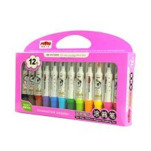 12 Color Markers Washable Doodle Markers for Kids, Toddle