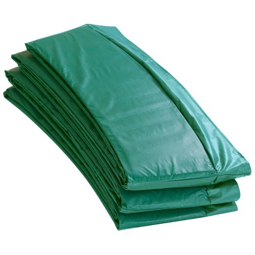 """Upper Bounce Super Trampoline Replacement Safety Pad (Spring Cover) for 14 FT. Round Frames - 10"""" wide - Green"""
