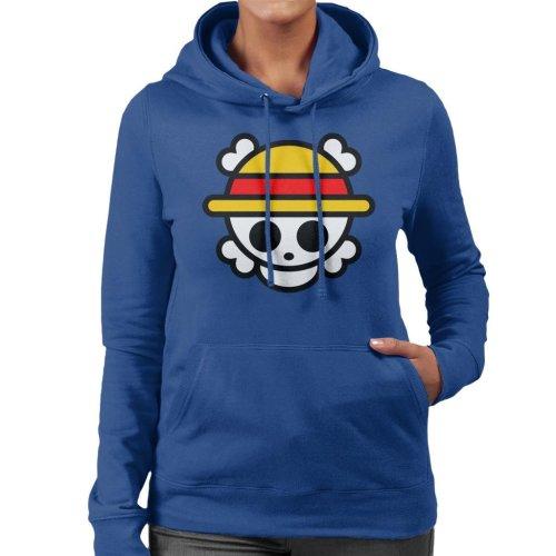 One Piece Logo Chibi Women's Hooded Sweatshirt