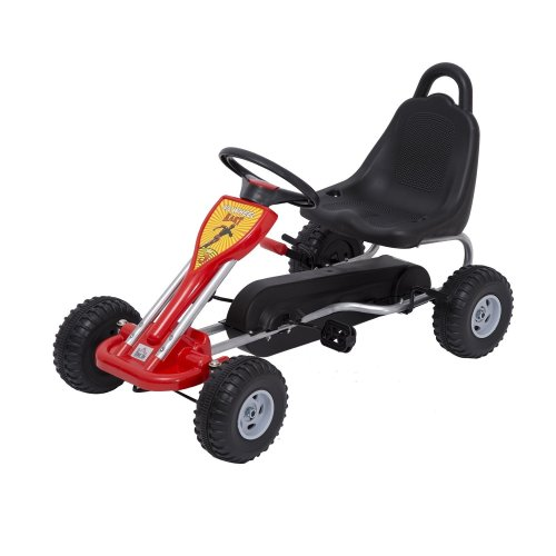 Homcom Kids' Small Red Pedal Go-Kart