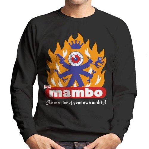 Mambo Flaming Eyeball Men's Sweatshirt