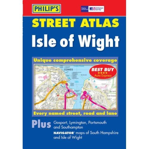 Philip's Street Atlas Isle of Wight: Pocket Edition (Philip's Street Atlases)