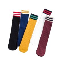 Set of 5 Fashion Middle Tube Socks One Size Fits Most