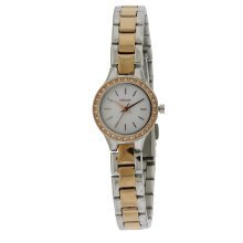 DKNY Two-Tone Crystal Ladies Watch NY8811