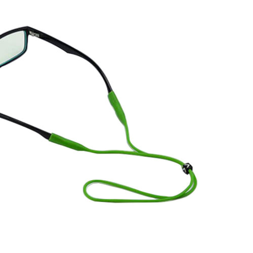 "Silica Gel Eyeglass Strap Non-slip For Children  17.32""-Green"