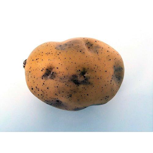 Artificial Potato - 10cm - Brown Fake Plastic Fruit & Vegetables