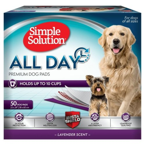 Simple Solution All Day Premium Dog Pads (50 Pads)