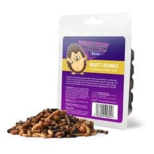 Spikes Insect Crumble Hedgehog Treat, 6 x 100g