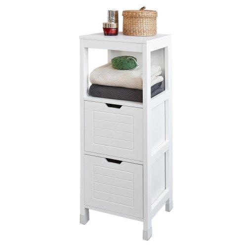 SoBuy® FRG127-W, Floor Standing Bathroom Storage Cabinet Unit, H89cm