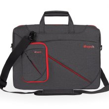 Ropch 17.3 Inch Laptop Bag Universal Computer Messenger Bag, Nylon Water Resistant Business Briefcase with Handles, Shoulder Strap Carrying Case...