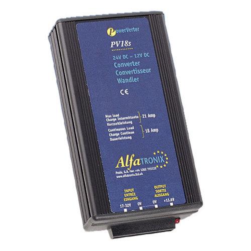 Convertor 24-12V Albrecht PV 18S Current Rating 18A Code 47833