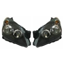Vauxhall Astra H Mk5 Hatchback 5/2004-6/2007 Headlights Lamps 1 Pair O/S & N/S