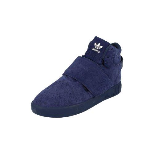 Adidas Originals Tubular Invader Strap Mens Hi Top Trainers Sneakers Shoes