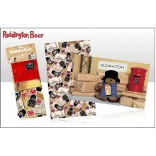Paddington Bear Scrap Book & Paddington Station Twin Pack Tea Towels Official
