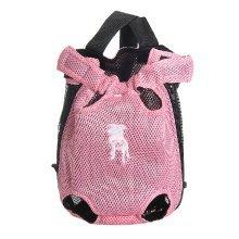 Fashion Travel Front Backpack Carrier Bag For Pets PINK (Suitable for 3.5-5.5kg)