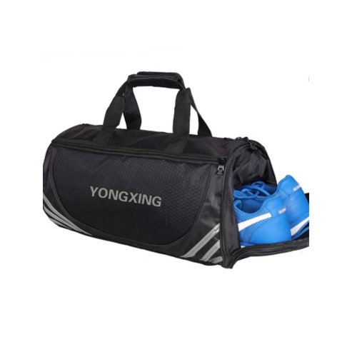 Large Sports Duffle Bags Gym Accessories Bags Travel Bag with Shoes Compartment, F