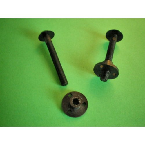 WING FIXING BOLT & BRACKET x 2 pairs