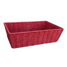 Medium Red Paper Rope Tray