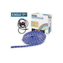 Eagle Static Plug and Play LED Rope Light 9m blue