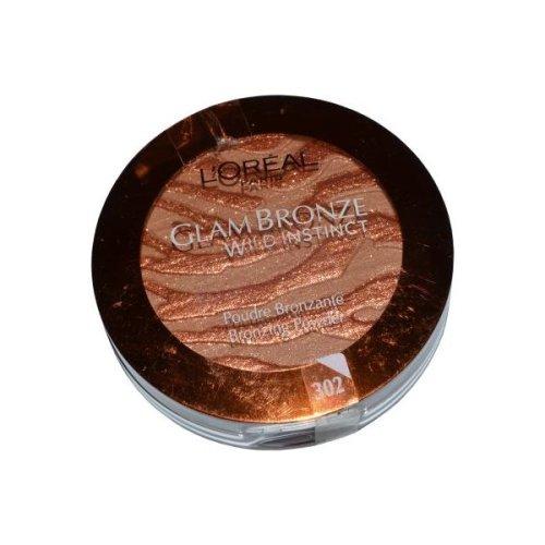 L'Oreal Glam Bronze Bronzing Powder Wild Instinct 7.5g Medium (#302)