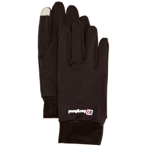 Berghaus Kids' Outdoor Gloves available in Black/Black - X-Large
