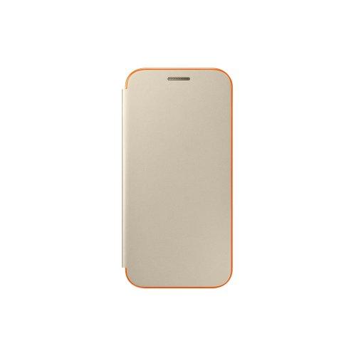 Official Samsung Galaxy A3 2017 SM-A320 Neon Gold Flip Case / Cover - EF-FA320PFEGWW