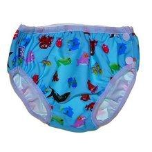 Blue Sea World Toddle Cute Baby Swim Diapers Swim Pants Swim Brief, M Size