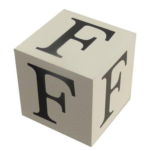 Wooden Block - Letter F