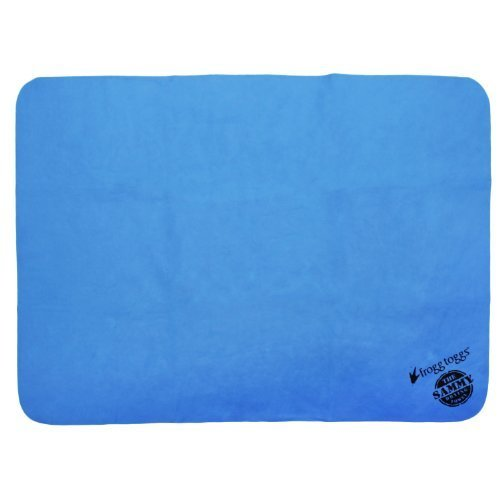 Frogg Toggs Sammy Trail Towel, 13 x 17-Inch, Solid Blue