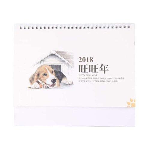 Lovely 2018 Office/Home Calendar Notebook Desk Standing Calendar-Good Year