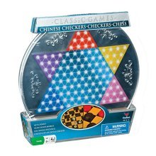Cardinal Metal Board Chinese Checkers, Checkers, and Chess