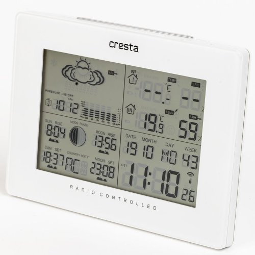 Cresta Weather Station DTX370 White 70313.01