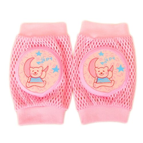 Cute Cotton Mesh  Baby Leg Warmers Knee Pads/Protect-Moon