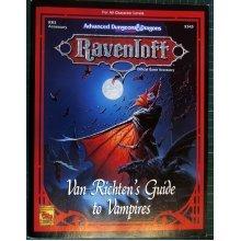 Van Richten's Guide to Vampires (AD&D: Ravenloft Accessory RR3)