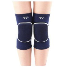Exercise & Fitness Knee Brace Yoga/Dance/Joint Pain Knee Pads L Blue