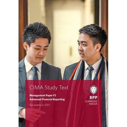CIMA F2 Advanced Financial Reporting: Study Text