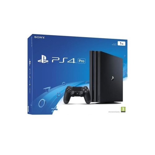 Sony PlayStation 4 PS4 PRO Console 1TB - Black